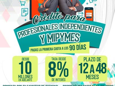 PROMO MIPYMES E INDEPENDIENTES